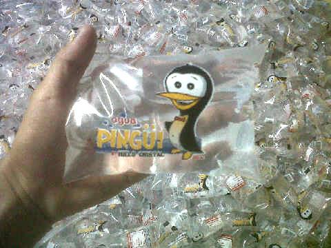 Bolsitas de Agua Purificada Pingüi