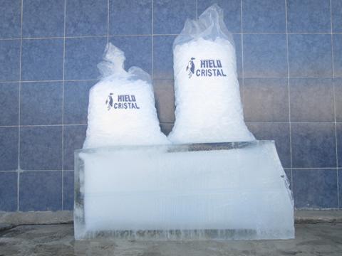 Bolsas de Hielo de 25 y 50 Kilogramos